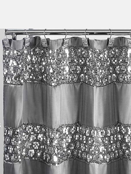 popular bath sinatra shower curtain silver