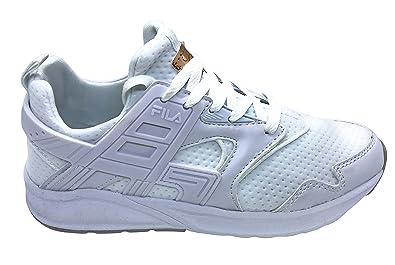 Fila Sneakers Basses Femme Blanc White, 40 EU:
