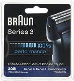 Braun 30B, 7000FC Syncro series screen foil and cutter blade.