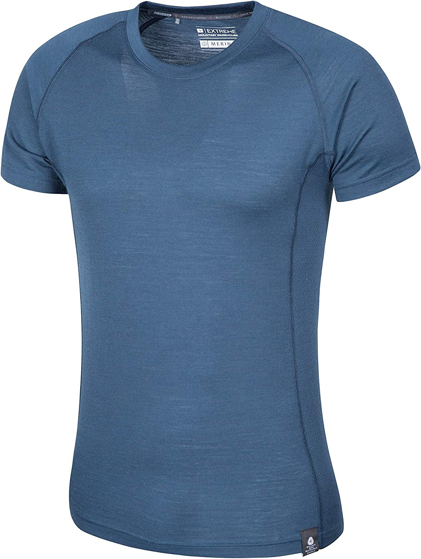Mountain Warehouse Camiseta Merino Summit para Hombre: Amazon.es: Ropa y accesorios