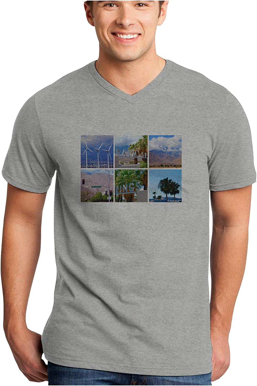 TooLoud Palm Springs Square Collage Toddler T-Shirt