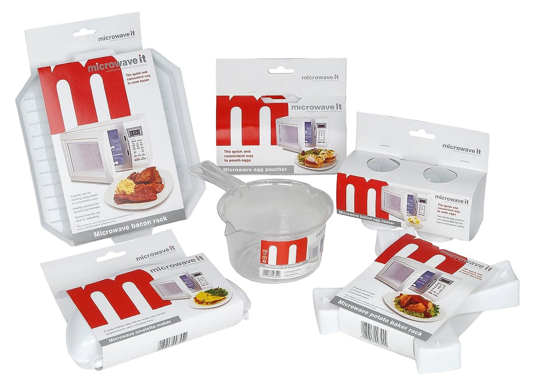 Pendeford - Juego de recipientes para microondas (6 piezas ...