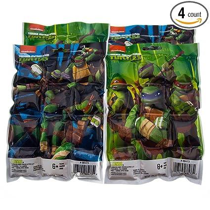 Amazon.com: 4 unidades Teenage Mutant Ninja Turtles para ...