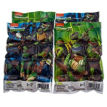 DG Home Goods Paquete de 4 Tortugas Ninja Mutantes para ...