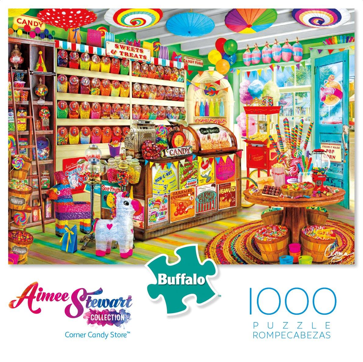 1000 Piece Jigsaw 11747 Corner Candy Store Aimee Stewart Buffalo Games