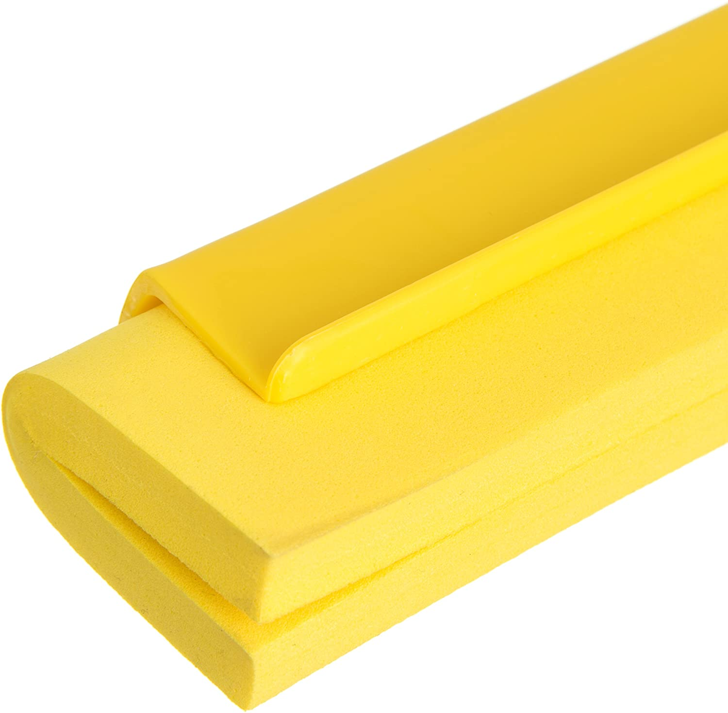 Synthetic Rubber//Polypropylene Red 24 Carlisle 24 Eaches Carlisle 4156805 Commercial Double Foam Squeegee