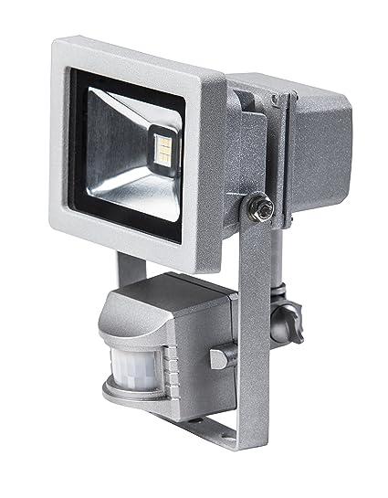 as - Schwabe chip-LED con sensor de movimiento, 12 W, colour gris