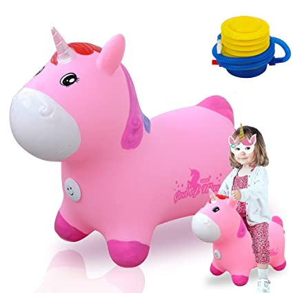 Amazon.com: Bouncy Unicornio Hopper Ball Unicornio Hopper ...
