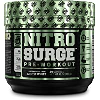 NITROSURGE Pre Workout Supplement - Energy Booster, Instant Strength Gains, Clear Focus, Intense Pumps - Nitric Oxide…
