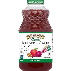 R.W. Knudsen Organic Beet Apple Ginger Juice Blend, 32 Ounces