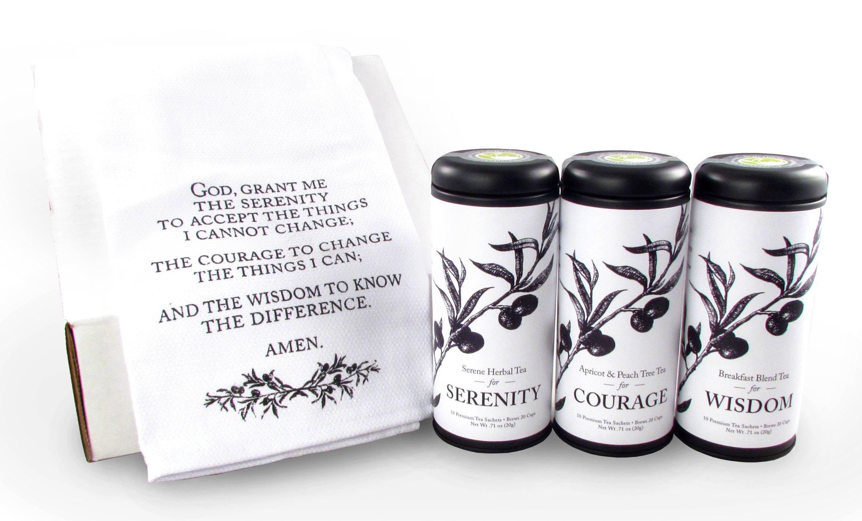 Serenity Prayer Tea Gift Set
