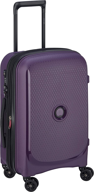 DELSEY Paris Belmont Plus Maleta, 55 cm, 32,1 litros, Purpura