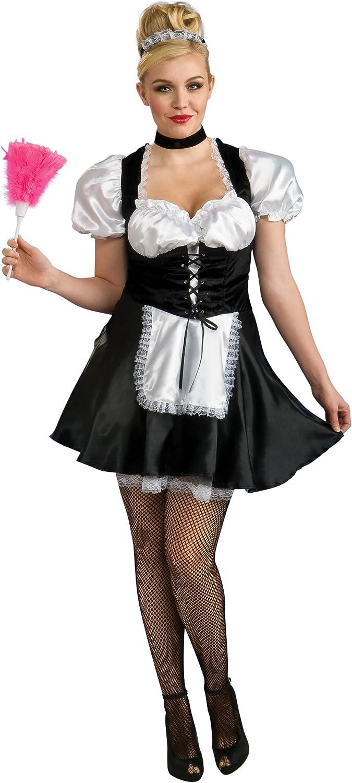 Full Figure French Maid Costume