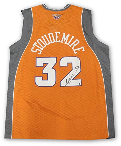 e775c979542 Image Unavailable. Image not available for. Color: Amare Stoudemire Hand  Signed Autographed Jersey ...