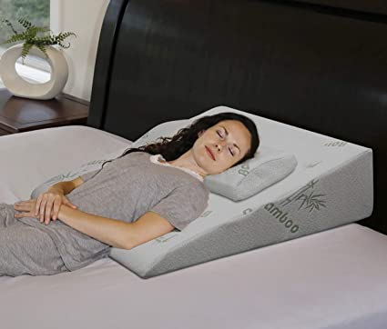bed wedge pillow walmart