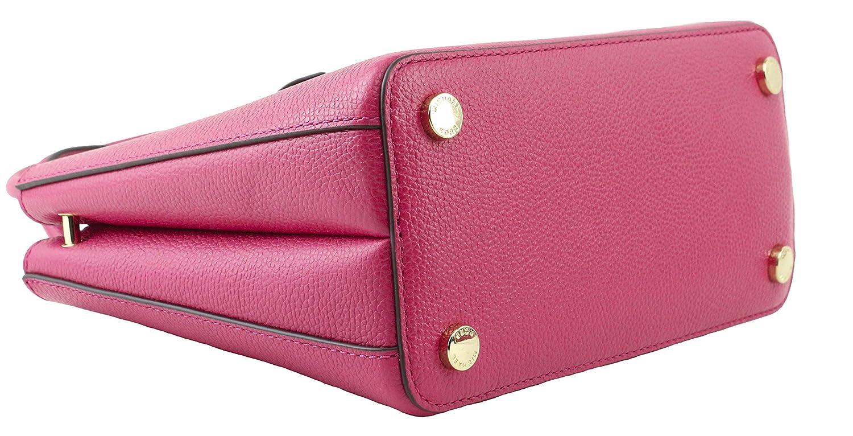 07865b542388 Amazon.com  MICHAEL Michael Kors Women s Adele Ruben Red Hot Pink Mercer  Medium Messenger Bag