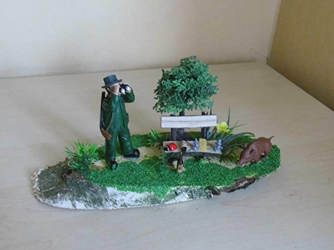 Geschenk Fur Einen Jager Geldgeschenk Waldszene Amazon De Handmade