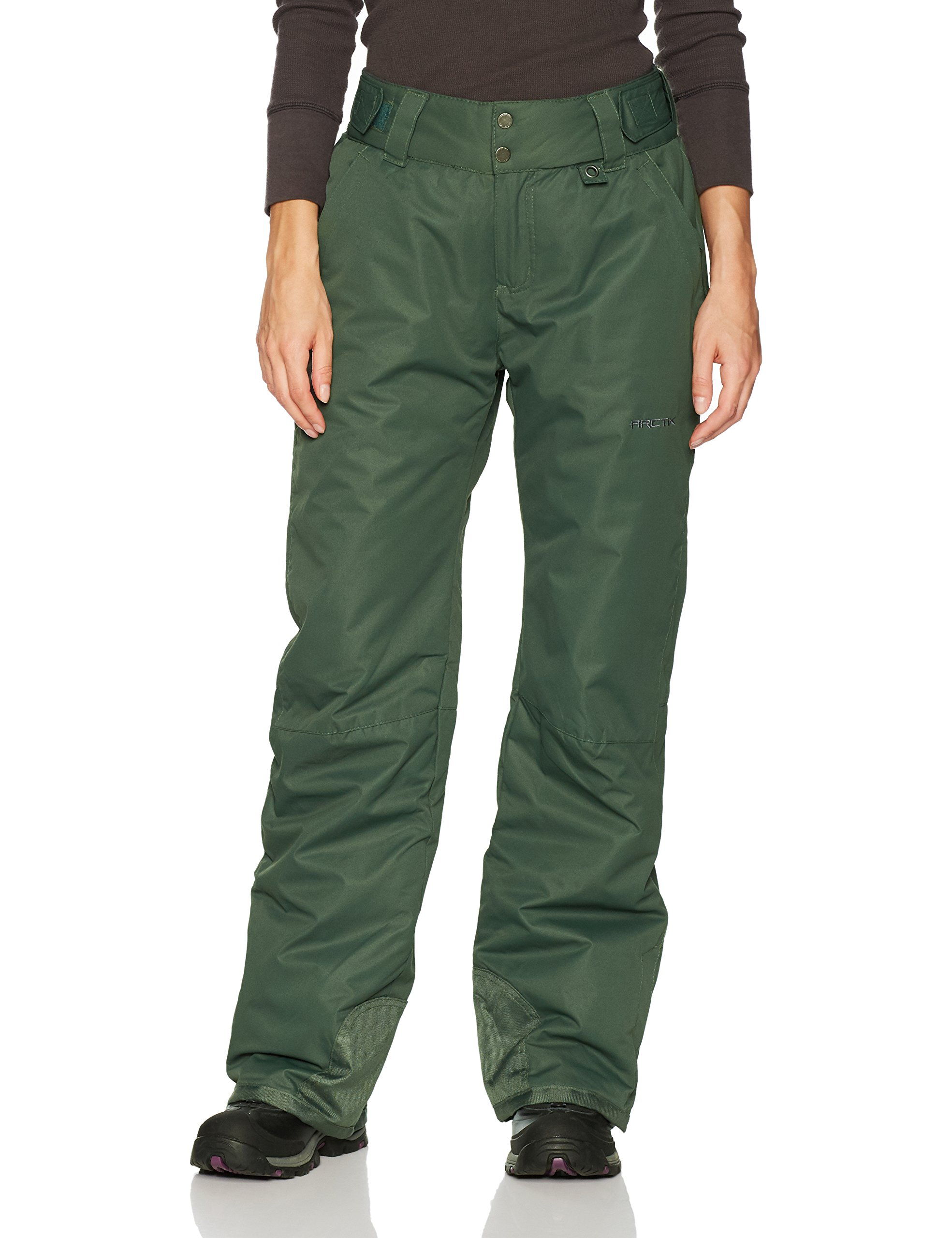 Arctix Women's Insulated Snow Pants, Fern Green, Medium/Regular by Arctix