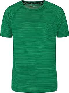 Mountain Warehouse Endurance Striped Mens T-Shirt - Spring Shirt