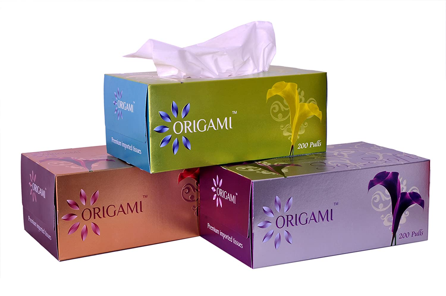 Origami So Soft 2 Ply Face Tissue Box - 200 Pulls(400 sheets) per box. Pack of 3 Boxes. Total 600 Pulls Amazon.in Health u0026 Personal Care  sc 1 st  Amazon India & Origami So Soft 2 Ply Face Tissue Box - 200 Pulls(400 sheets) per ... Aboutintivar.Com