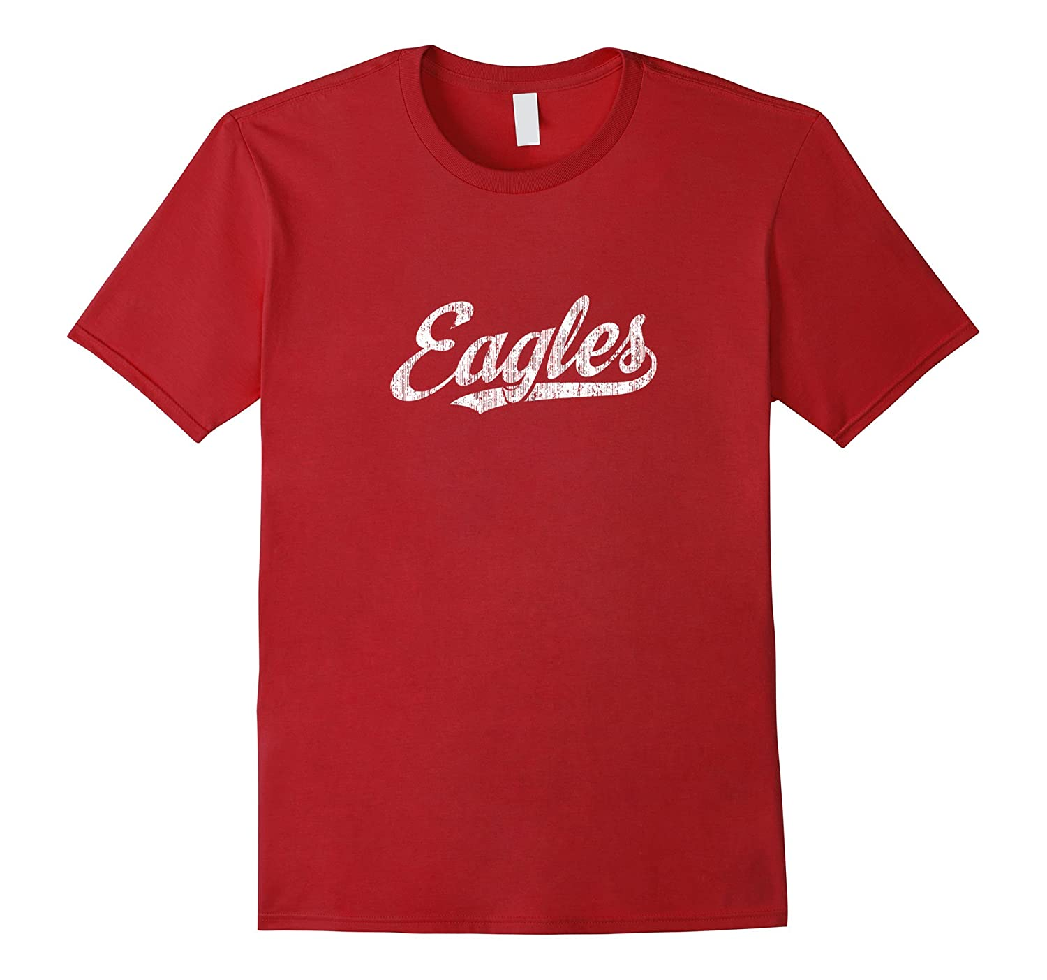 Eagles Mascot T Shirt Vintage Sports Name Tee Design-ah my shirt one gift