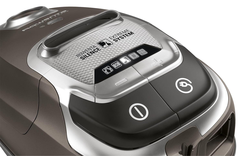 Rowenta RO6466EA Aspirateur avec Sac Silence Force 4A Home /& Car Pro 4,5L Silencieux 66dB Accessoires Sp/éciaux Poils d/'Animaux et Voiture 750W