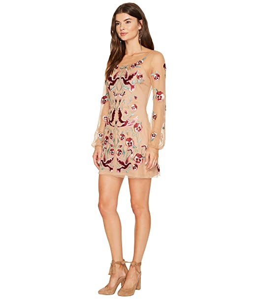 Amazoncom For Love Lemons Dove Embroidery Mini Dress