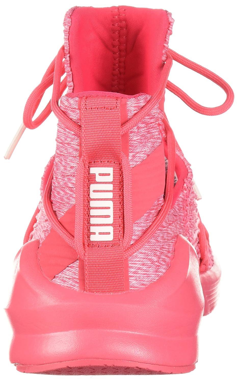 PUMA Women's Fierce Rope Pleats Wn Sneaker B071K694R3 Pink 6 B(M) US|Paradise Pink-paradise Pink B071K694R3 f71171