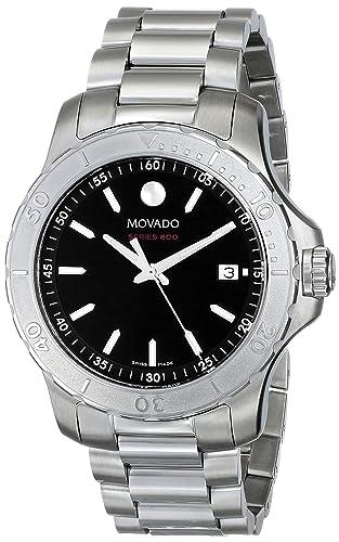 Movado 2600115 - Reloj para Hombres, Correa de Acero Inoxidable: Amazon.es: Relojes