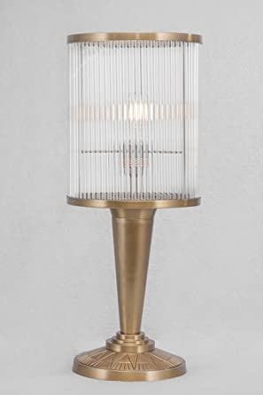 Art Déco/petitot - Lámpara de mesa VII: Amazon.es: Iluminación