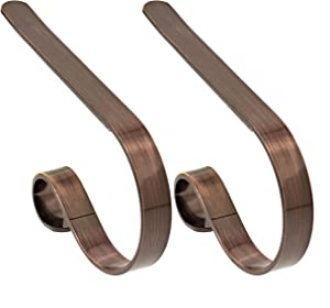 The Original MantleClip Stocking Holder - 2 Pack (Oil-Rubbed Bronze)