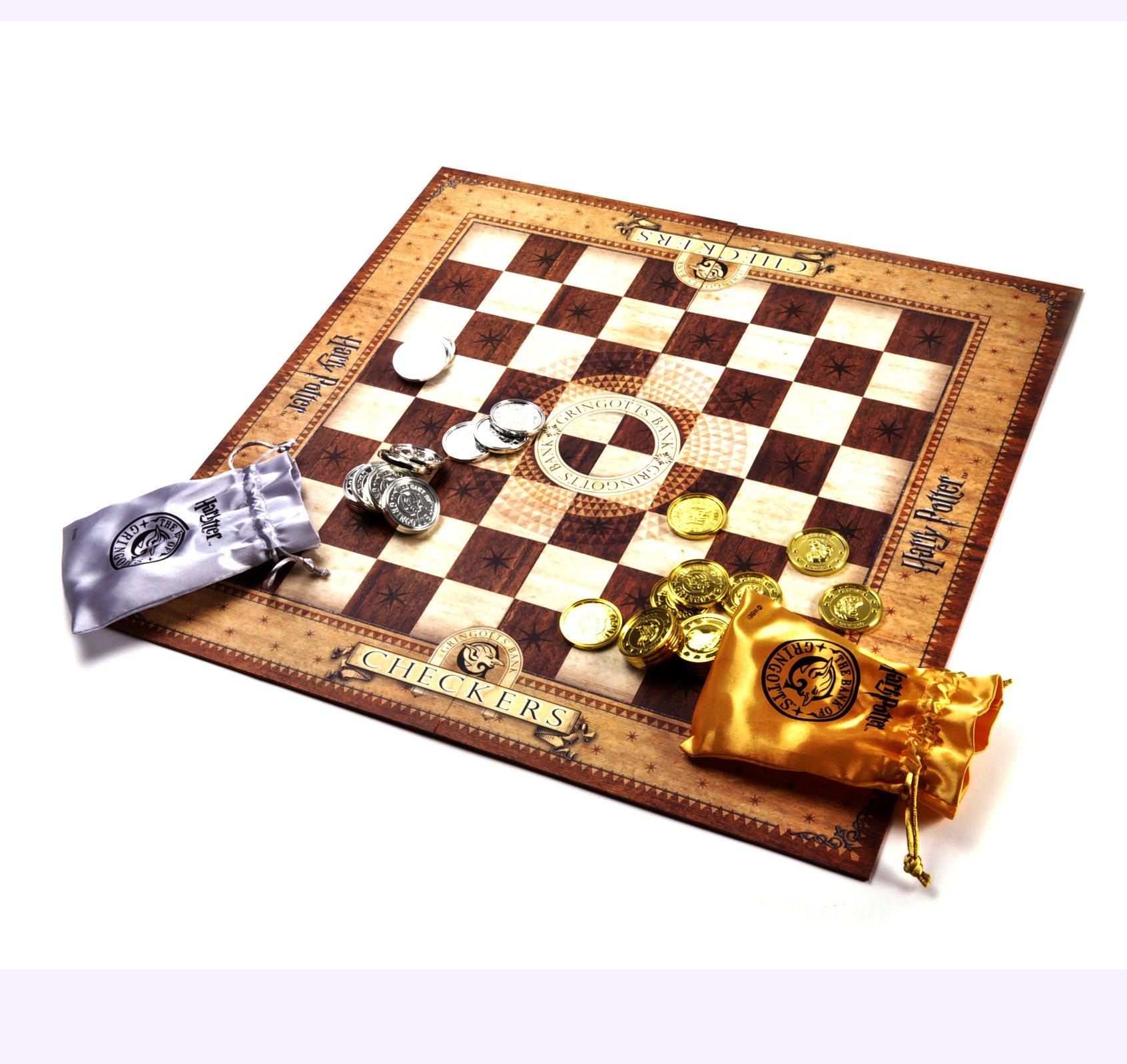 Noble Harry Potter Gringotts Bank Checkers Set
