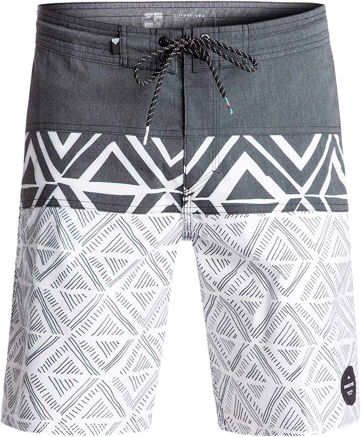 Quiksilver Men's Panel Print Beachshort 19 Boardshort
