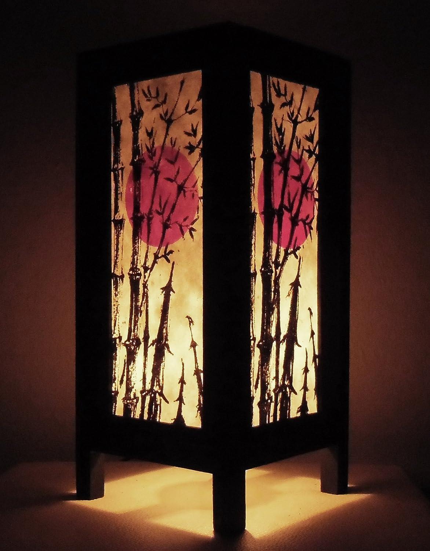 Amazon.com: Rare Thai Vintage Handmade Paper Lamp Asia Oriental ...