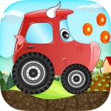 7 d free game - Car racing game for Kids - Beepzz animal cars fun adventure