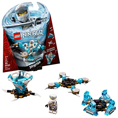 LEGO NINJAGO Spinjitzu Zane 70661 Building Kit (109 Pieces): Toys & Games