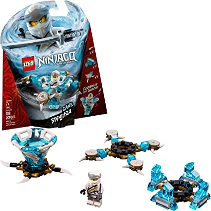 LEGO NINJAGO Spinjitzu Zane 70661 Building Kit, 2019 (109 Pieces)