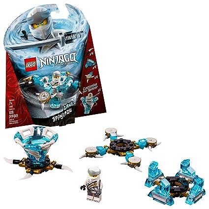 d22419ce8d267 Amazon.com: LEGO Ninjago Spinjitzu Zane 70661 Building Kit , New 2019 (109  Piece): Toys & Games