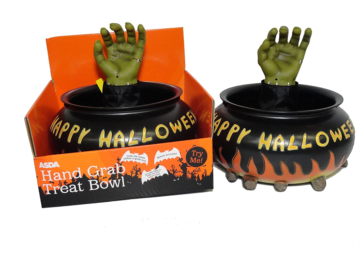 Closeout Halloween Candy Bowl ONLY - Does NOT Work - NO Guarantee - As Is Sunstar Industries