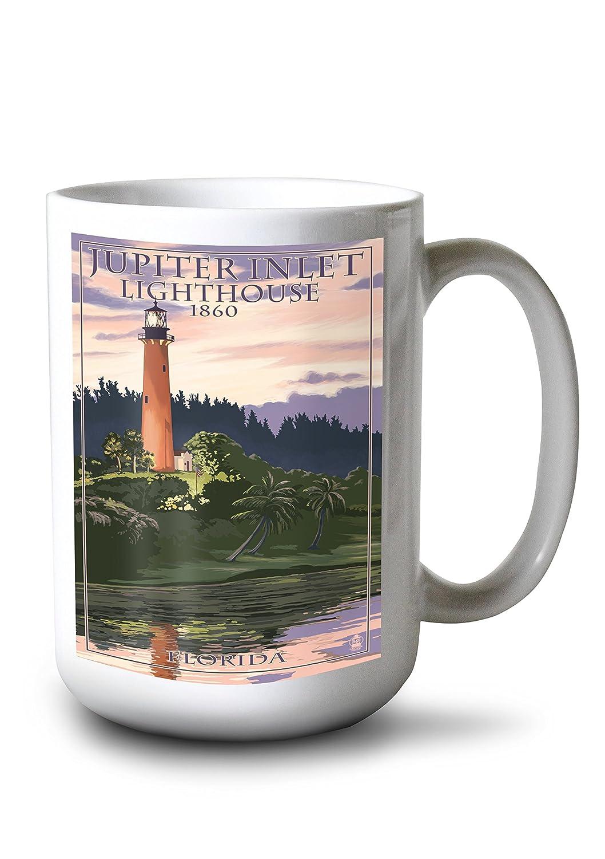 【サイズ交換OK】 Jupiter Inlet灯台 Inlet灯台 – ジュピター –、フロリダ州 Canvas 15oz Tote Bag LANT-31814-TT B077RQD4GK 15oz Mug 15oz Mug, ゲイノウチョウ:9586c596 --- gfarquitetura.com