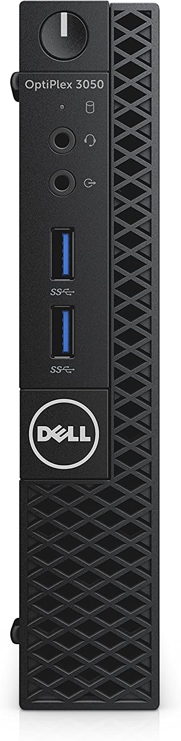 Dell CFC5C OptiPlex 3050 Micro Form Factor Desktop Computer, Intel Core i5-7500T, 8GB DDR4, 256GB Solid State Drive, Windows 10 Pro (Renewed)