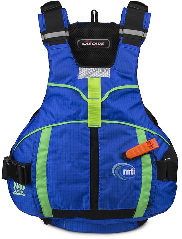 【オープニングセール】 MTI XL Adventurewearカスケードライフジャケット B01CL337IU XL ブルー/グリーン ブルー/グリーン B01CL337IU, マツノチョウ:dd215e6b --- senas.4x4.lt