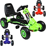 Rip-X Childrens 'My First' Pedal Go Kart Ride On Car - Suitable For 3 to 5 Years - Choice Of Colours