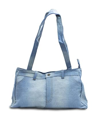Amazon.com: Genuine Denim Shoulder Bag Purse: Clothing