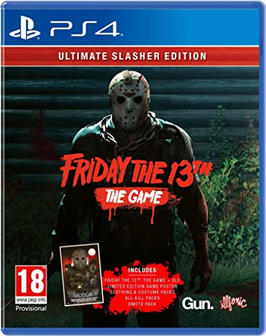 Friday the 13th: The Game Ultimate Slasher Edition - PlayStation 4 ...