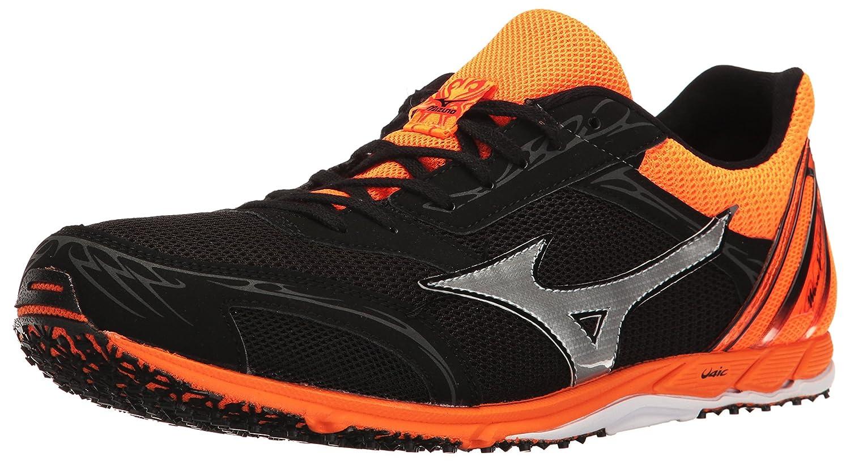 Mizuno Men's Wave Ekiden 11 Track Shoe, Black/Clownfish, 7 D US: Buy Online  at Low Prices in India - Amazon.in