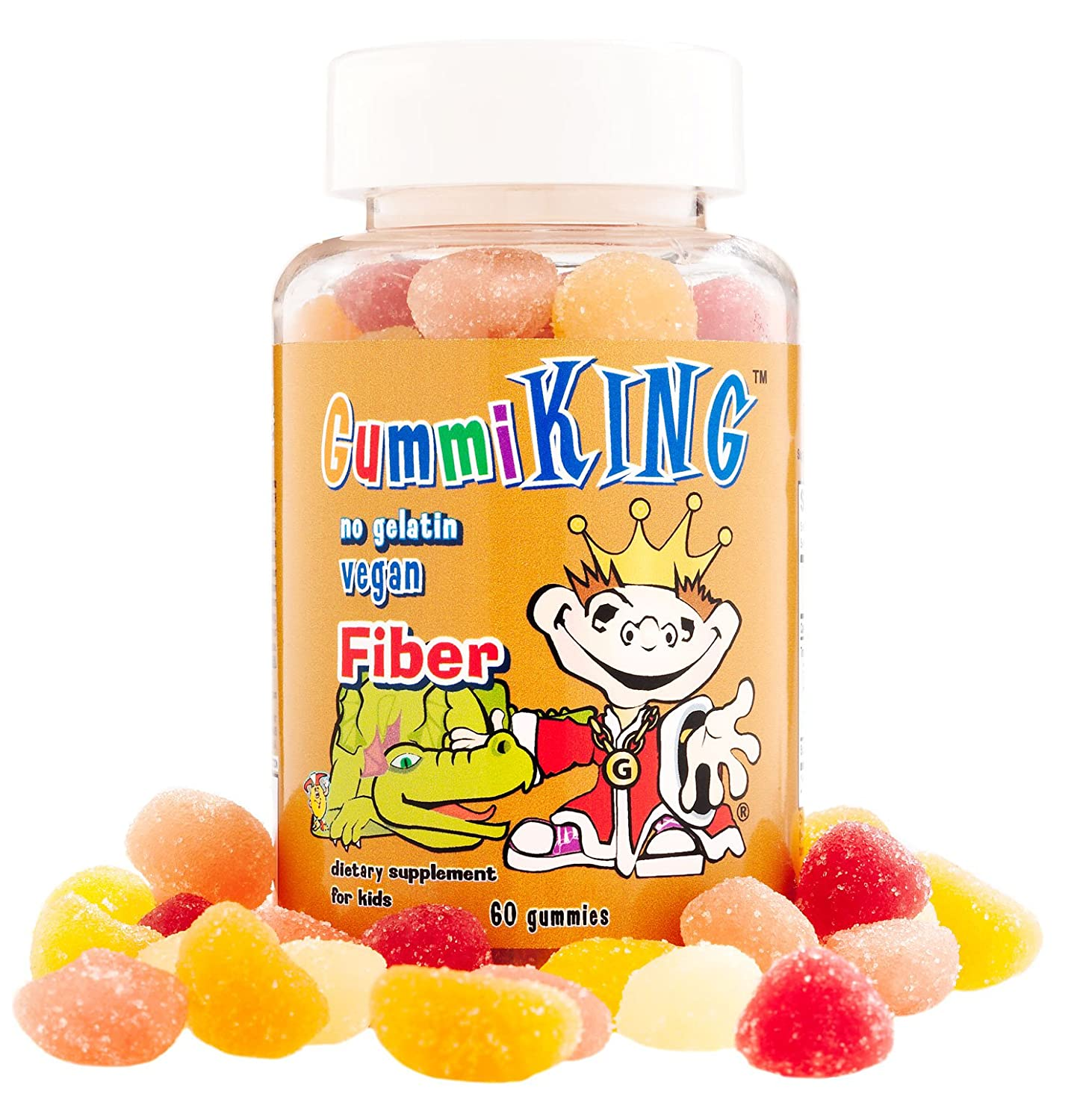 Gummi King Fiber Supplement, Strawberry