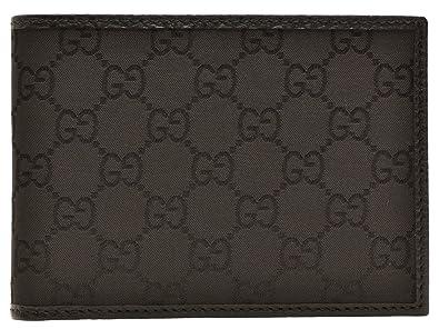 e59e9d5dd73c (グッチ) GUCCI 財布 二つ折り メンズ ブラック GGナイロン レザー 292534g1xkg1000 アウトレット限定モデル