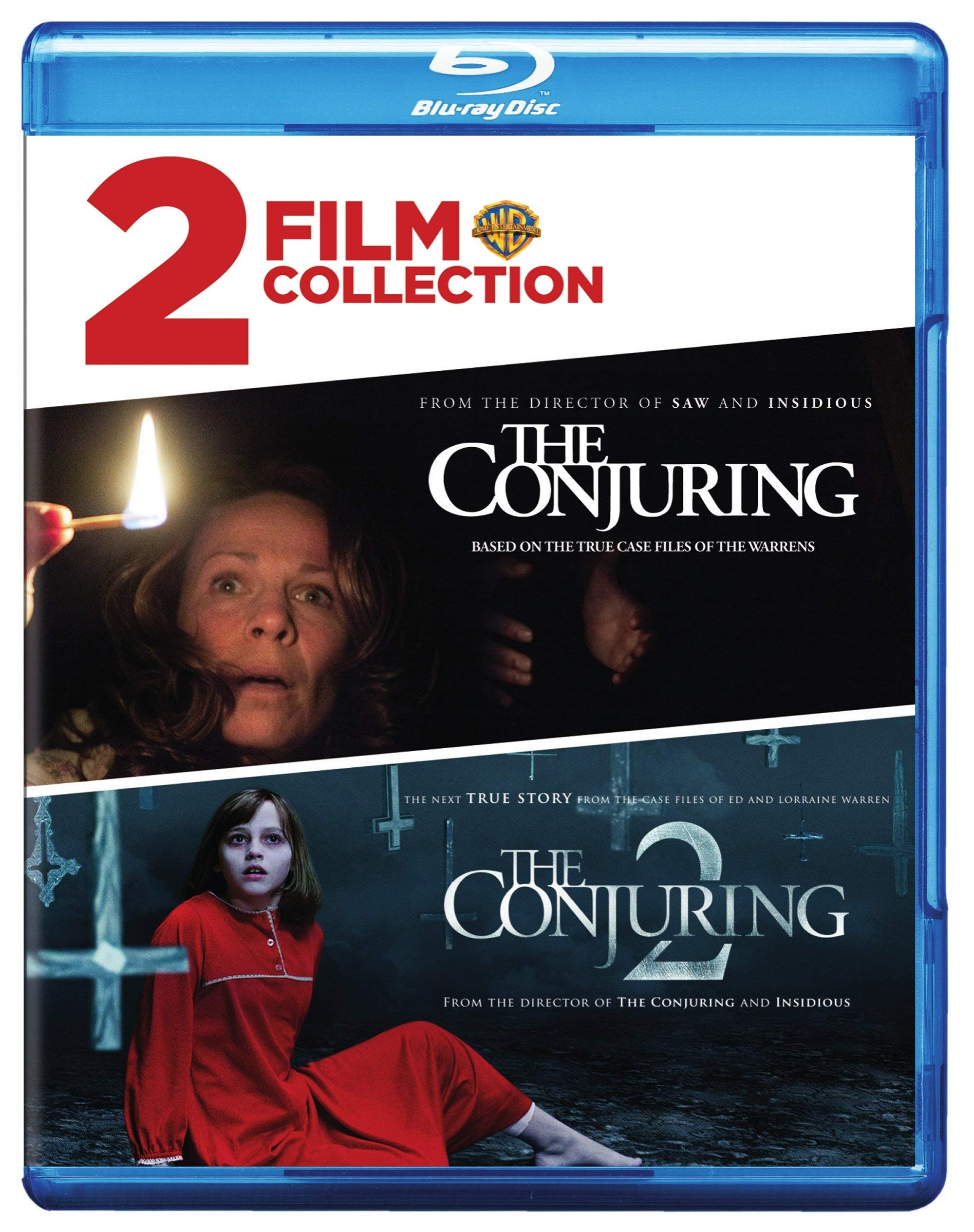 Blu-ray : The Conjuring/ The Conjuring 2 (2 Pack)