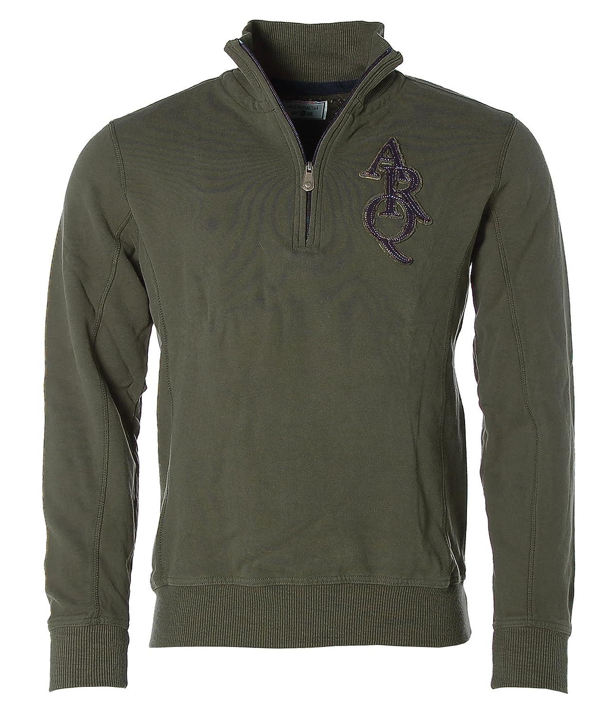 ARQUEONAUTAS Herren Sweatshirt Sweat Troyer Pullover -ADVENTURE since 1995-